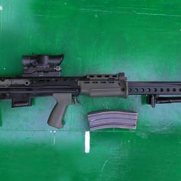 Enfield L86 LSW 5.56mm
