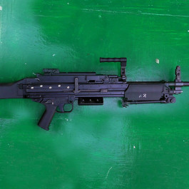 L110A2 LMG 5.56mm belt fed (FN MINIMI)