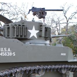 M1919A4 Browning Machine Gun .30cal on turret