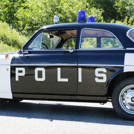 Volvo 122 Amazon 1970 Police Car