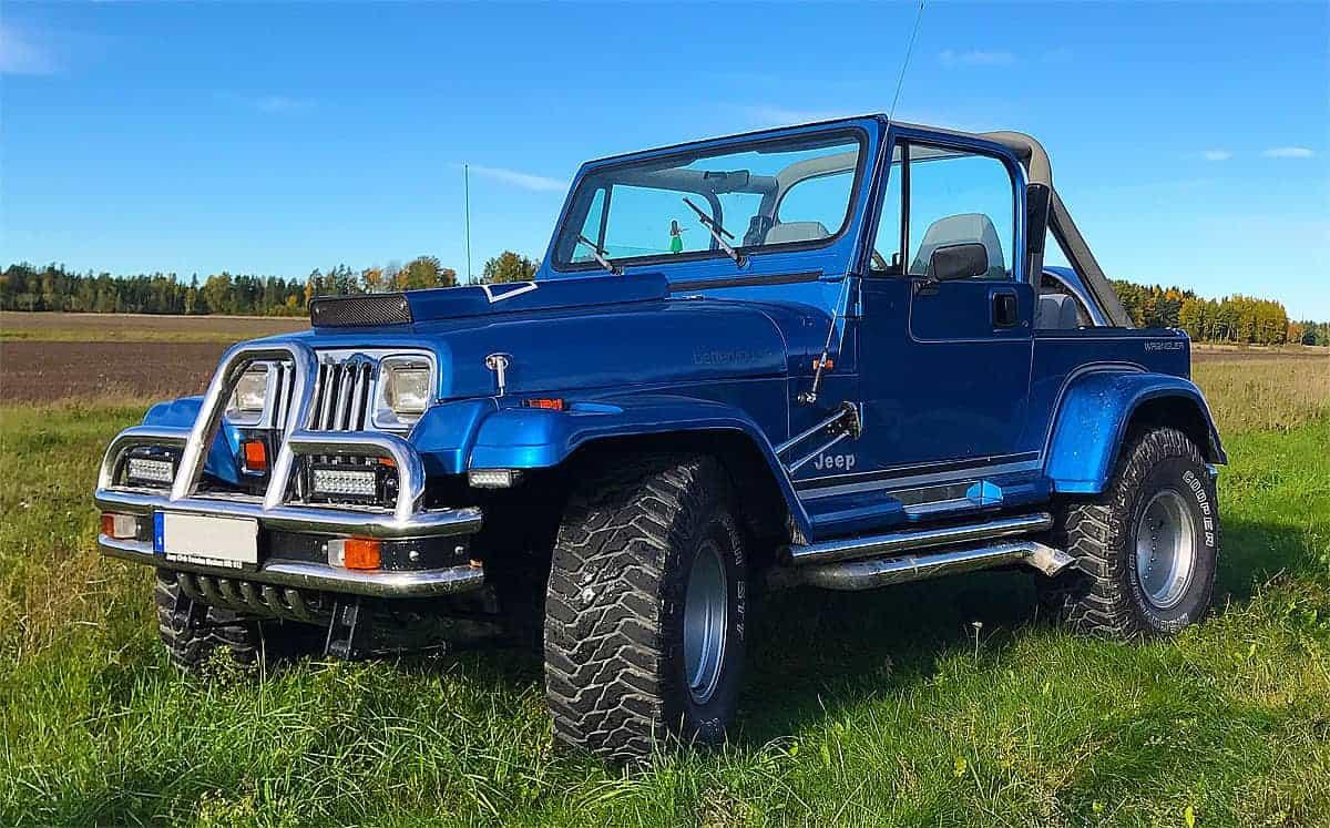 Jeep Wrangler YJ 1991