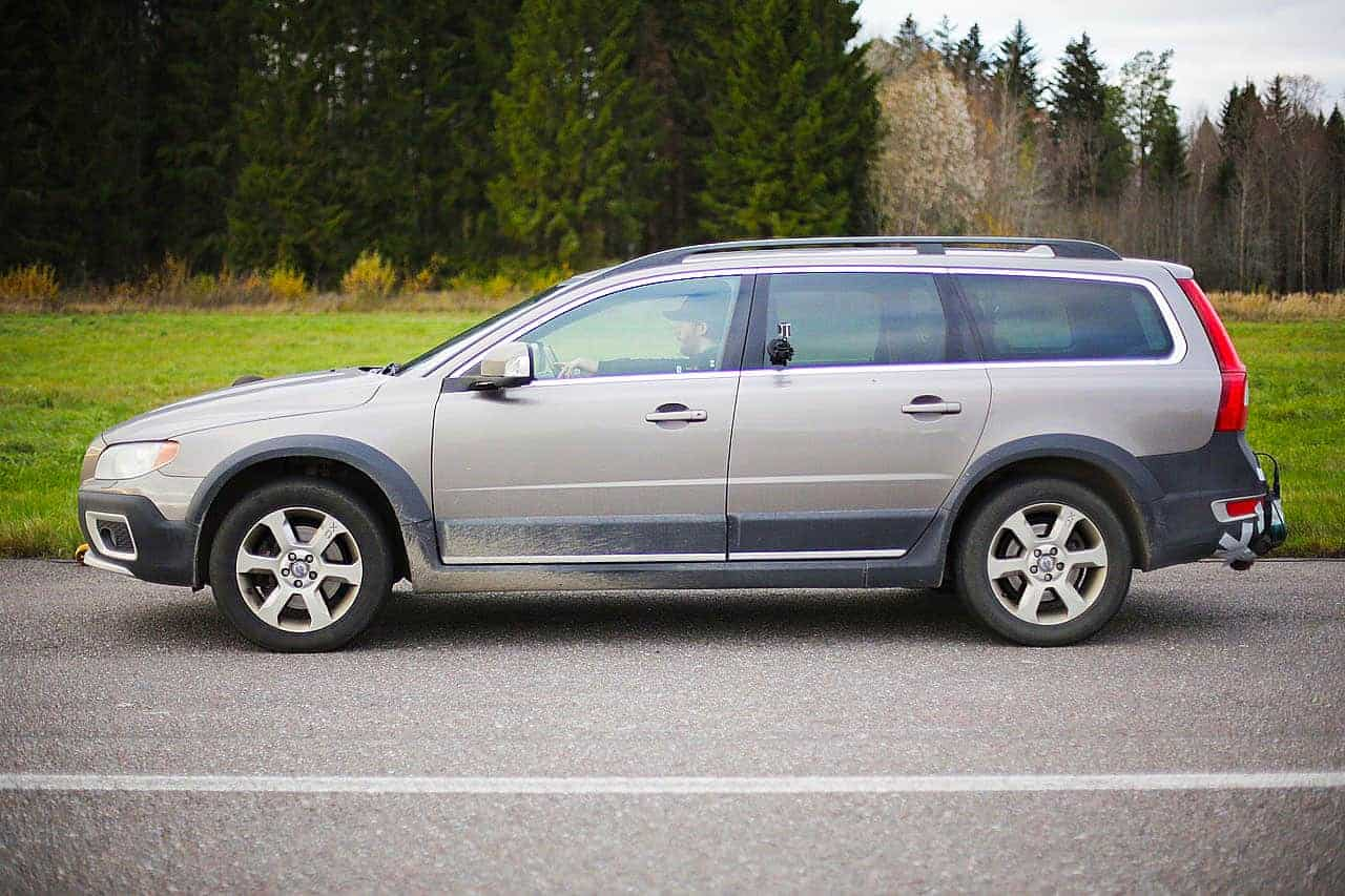 volvo xc70 2008 – pole position production