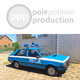 FSO Polonez 1500 Police Car 1984